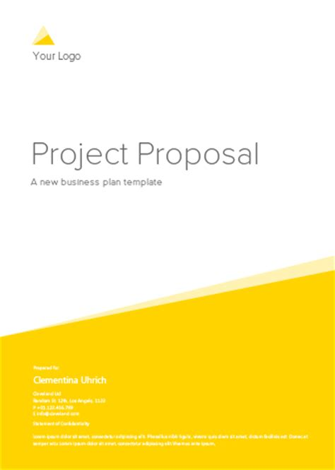 Basic business plan template accmission Image collections